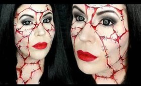 GOREticia Addams Makeup Tutorial: Halloween Day 22