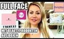 FULL FACE nur mit Produkten aus Beautyboxen Glossybox, Pink Box, Luxury Box uvm 2019