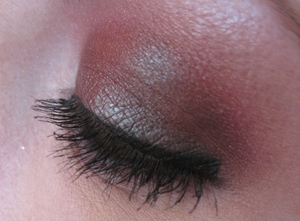 """Duo-chrome look using Wet n' Wild's LE """"Night Elf"""" Palette."""