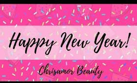 Happy 2017!... And an Update! ♡ Christina Amor