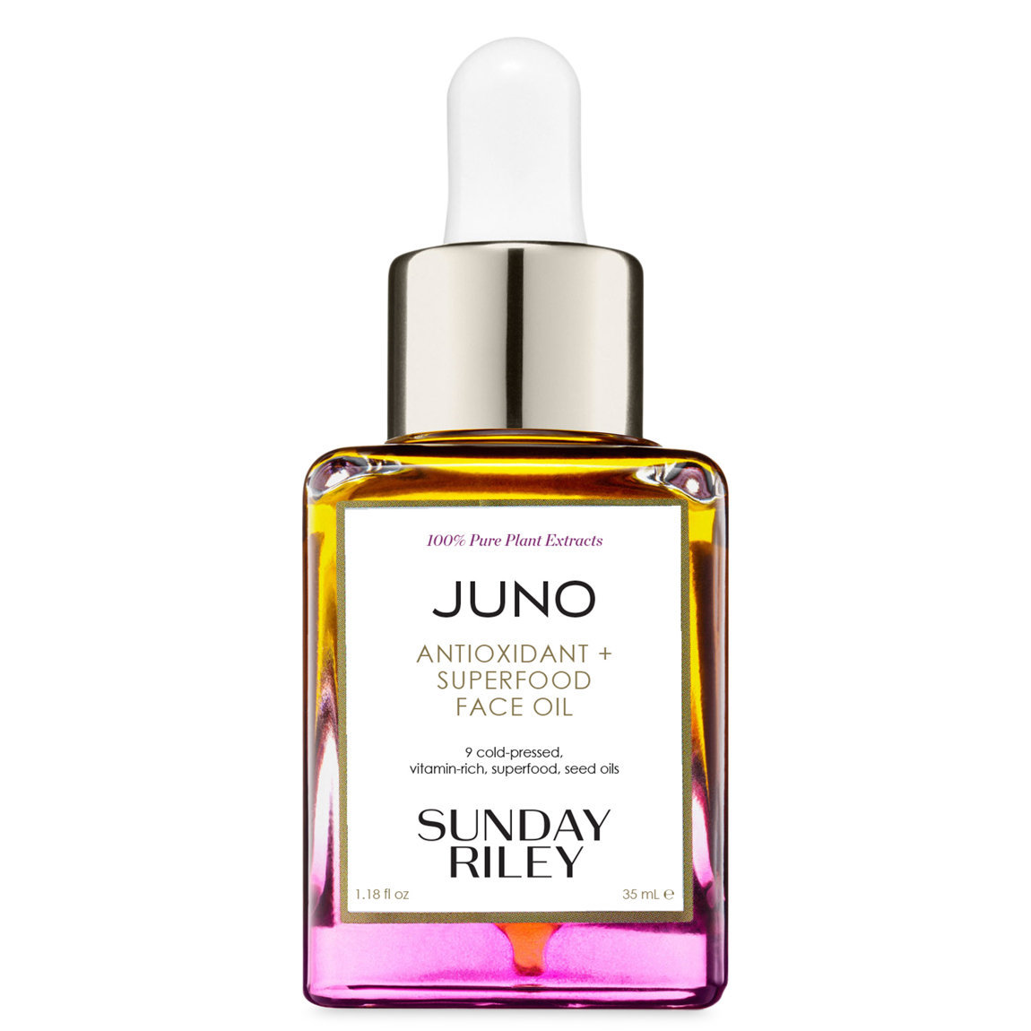 Sunday Riley Juno Antioxidant + Superfood Face Oil 35 ml alternative view 1 - product swatch.
