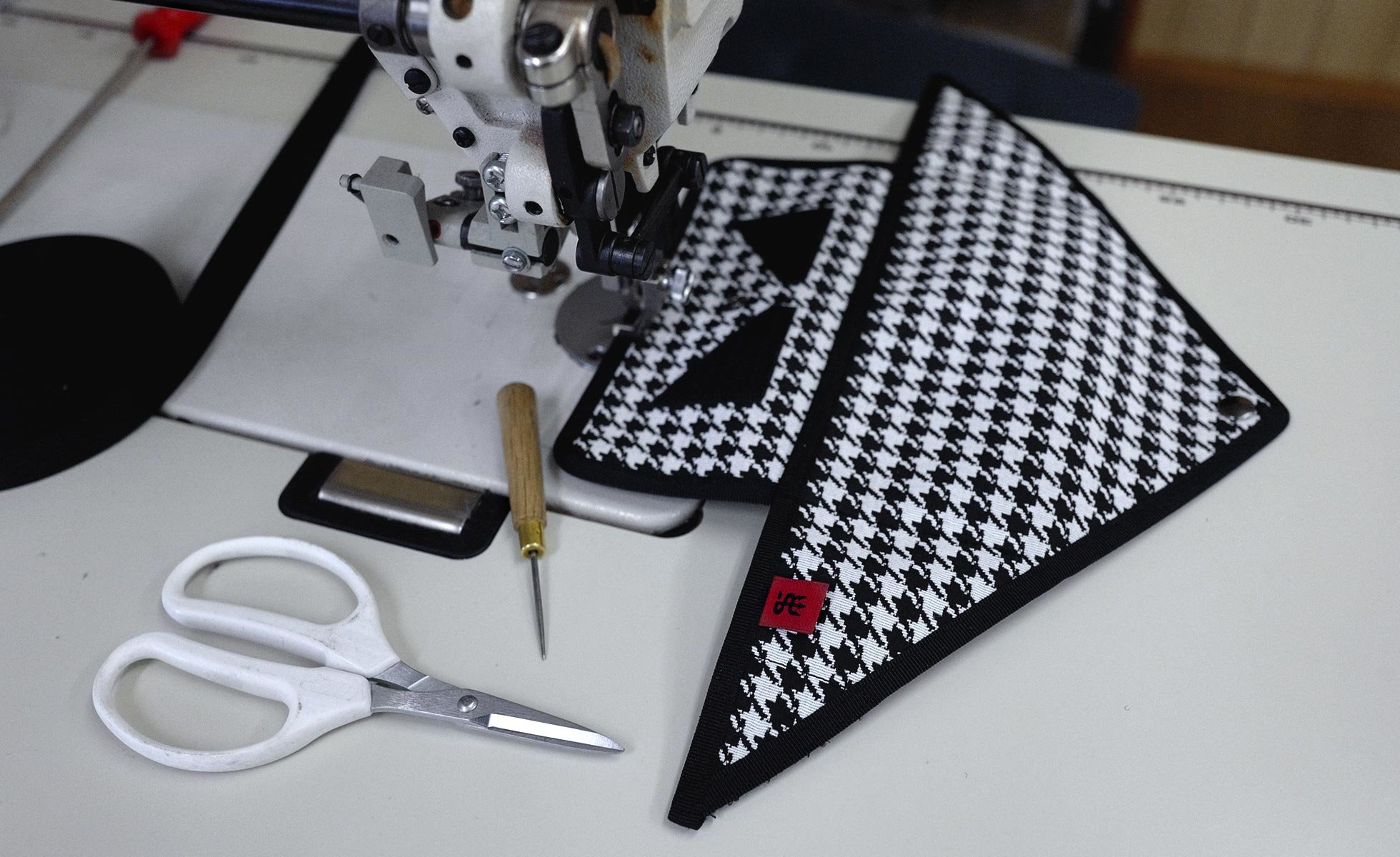 See behind the scenes of Sonia G.'s Houndstooth Collection