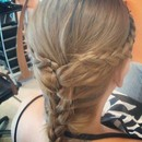 Hairstyle with Braids (back)