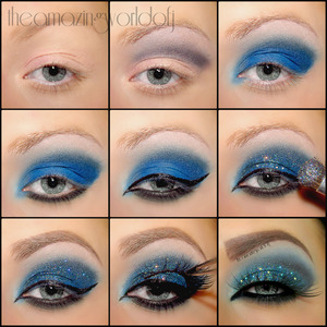 Do not mind the difference of the tutorial look and the finished look - i re-did it - so it is not exactly the same