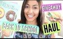Back To School Supplies Haul + HUGE GIVEAWAY 2015