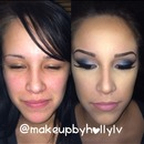 Before and after on a client :)
