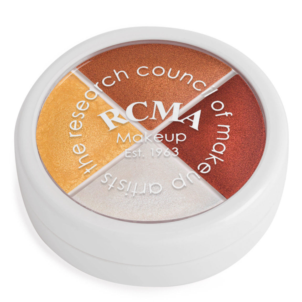 RCMA Makeup 4 Color Kit Sheens alternative view 1.