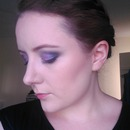 Purple Smokey Eye Take 2