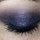 Dark Voilet Smokey Eye