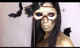 DIY MASQUERADE FLESH MASK TUTORIAL