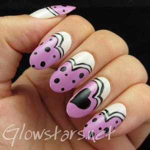 Read the blog post at http://glowstars.net/lacquer-obsession/2014/08/nail-max-collections-vol-10-design-purple-076/