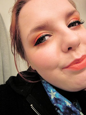 Orange and Orange. Why not? :D