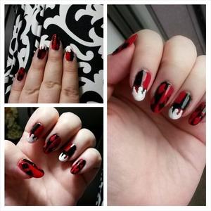 http://bewitchingnails.blogspot.com/2014/03/harley-quinn-nails.html?m=1