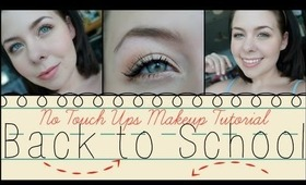 Back To School Makeup | No Touch Ups! + All Drugstore