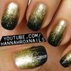 Glitterfall Nails