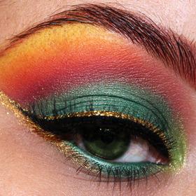 Phoenix Inspired Look