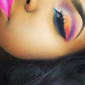 My first cut crease ever lol Check me out on Instagram @50shadesofface @mekoalexus!