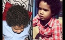 Baby Manny's Curly Hair Routine / Styling