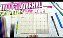 May 2017 Bullet Journal Plan With Me, Bullet Journal Setup May 2017
