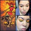 Phoenix Xmen Makeup