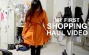 My First Shopping Haul Video!