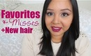 December 2012 Favorites & Misses! (+New hair cut!)