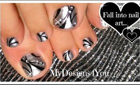 Born Pretty Mirror Polish Toenail Art | Diseño de Uñas de Pies ♥ Педикюр