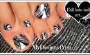 Born Pretty Mirror Polish Toenail Art | Diseño de Uñas de Pies ♥ Педикюр