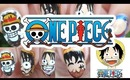One Piece Monkey D Luffy Nail Art | モンキー・D・ルフィ