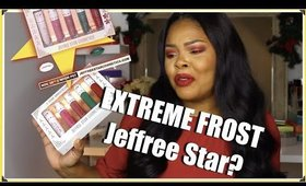 JEFFREE STAR HOLIDAY COLLECTION REVIEW 2019(EXTREME FROST) ANNIVERSARY| CHRISSYGLAM
