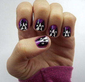 boston-terrier-nail-polish
