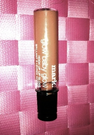 mark Glow Baby Glow Hook Up Lip Gloss in the shade Honey.