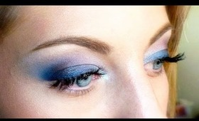 Make-up tutorial : Blue Butterfly Spring Eyes