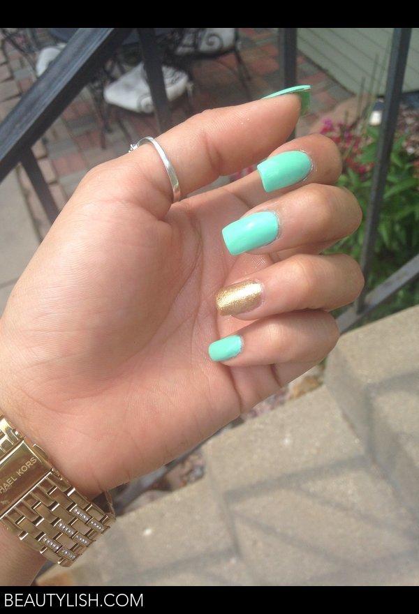 Princess Jasmine Nails | Victoria R.\'s Photo | Beautylish
