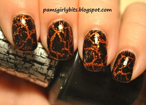 icing pumpkin and black shatter