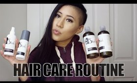 CURRENT HAIR CARE ROUTINE | STUSH PRODUCTS