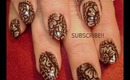 HENNA mehendi (mehndi) heena arabic indian tattoo design: robin moses nail art tutorial