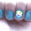Power Puff Girls Nails (Bubbles)
