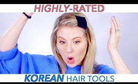HIGHLY-RATED KOREAN Hair Tools! Do they work?!