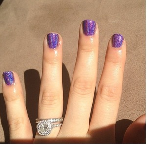 Love this nail polish! Ordered it from Brazil! Brand is Jade is shade Fascinio Violeta