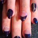 purple studs