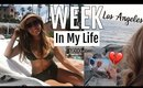 A Week In My Life in Los Angeles// Saying goodbye to my dad