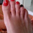 Halloween toes..