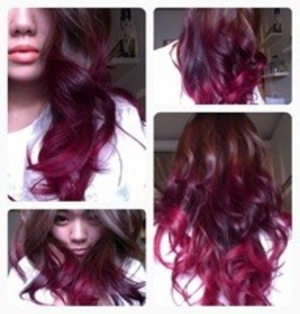 thinking of dying my hair like this(: yes or no ?