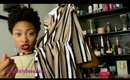 HAUL: Romwe Spring Fashion (Minimalist Striped Romper and Mock Neck Split Tank)