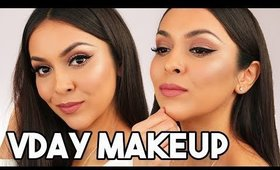 SOFT GLAM VALENTINES DAY MAKEUP LOOK - TrinaDuhra