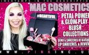 MAC Cosmetics Petal Power & Glow Play Blush Collections! Demo, Swatches, & Review! | Tanya Feifel