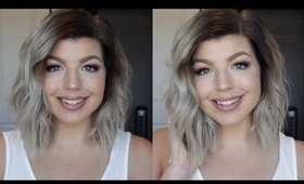 ALL ABOUT MY HAIR | How to Get Silver Hair, My Haircut, Products, etc!
