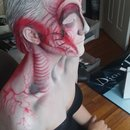 H.R. Giger inspired alien (side)