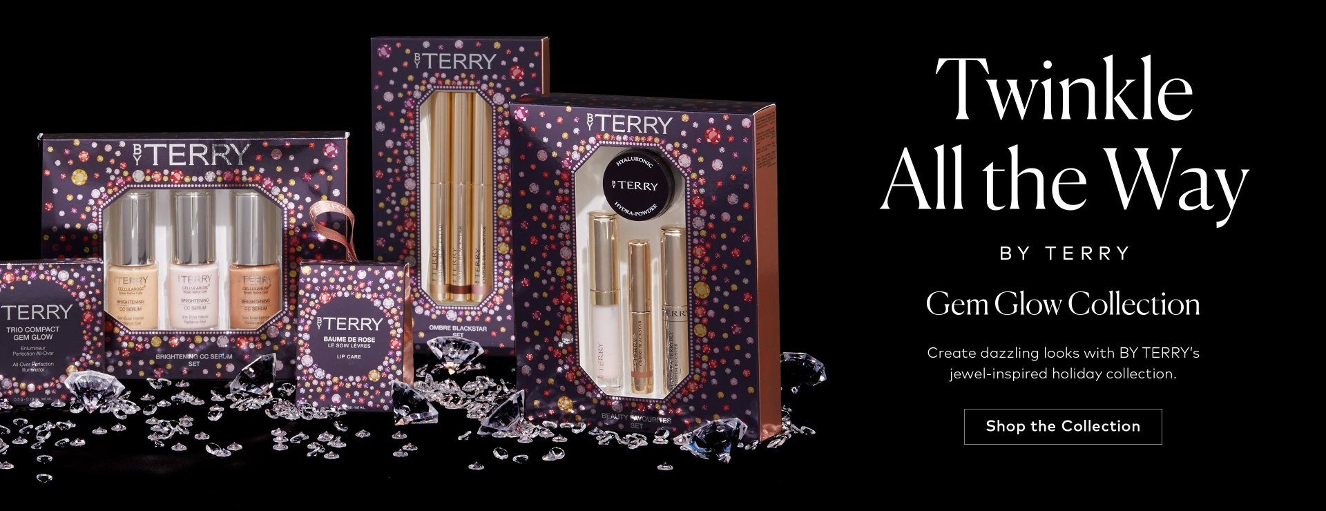 Shop BY TERRY's Gem Glow Collection.
